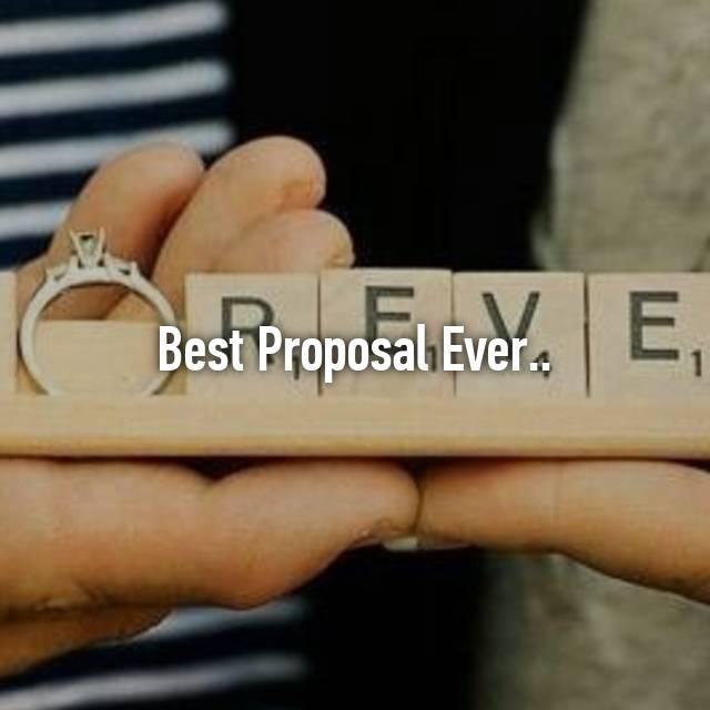 19 Adorably Unusual Ways People Asked Will You Marry Me